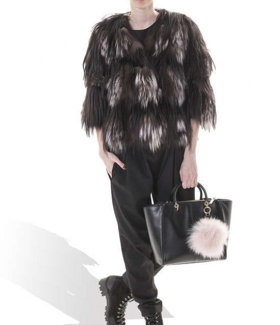 Short Fox & Goat Coat