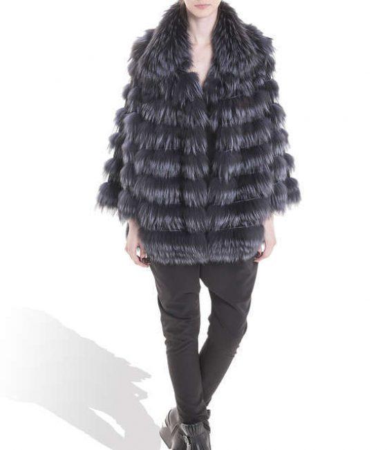 Grey Fox Long Coat
