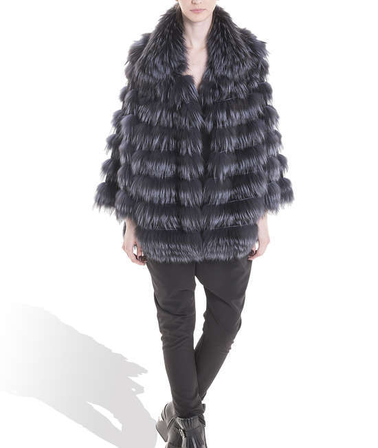 Grey Fox Long Coat